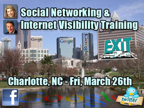 Charlotte NC Real Estate Social Networking & Internet Visibility Training