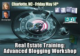 Charlotte NC Real Estate Advanced Blogging Workshop
