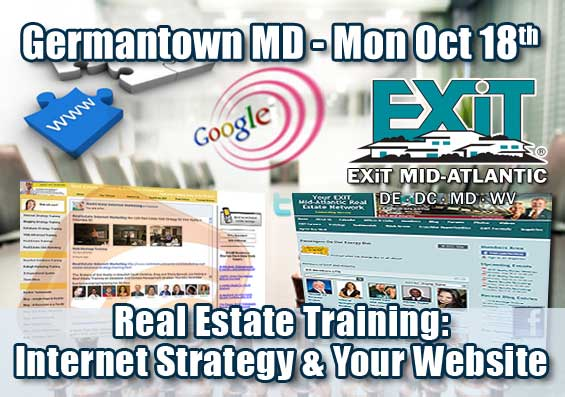 Germantown Real Estate Internet Strategy Training