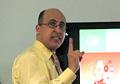 Key Yessaad holding a training on Internet Marketing