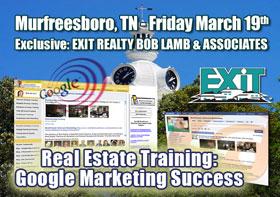 Murfreesboro TN Real Estate Training: Google Marketing Success - Seminar Designed by Key Yessaad