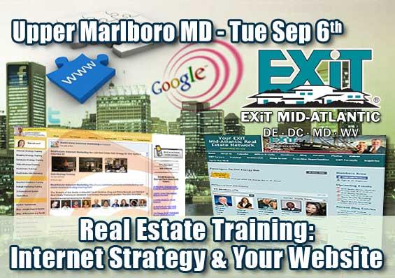 Upper Marlboro Real Estate Internet Strategy Training
