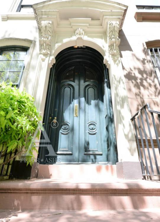 "Famous front doors featured in 1961 film ""Breakfast at Tiffany's"" - Courtesy of Peter*Ashe Real Estate"