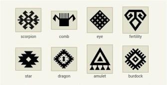 kilim-symbols