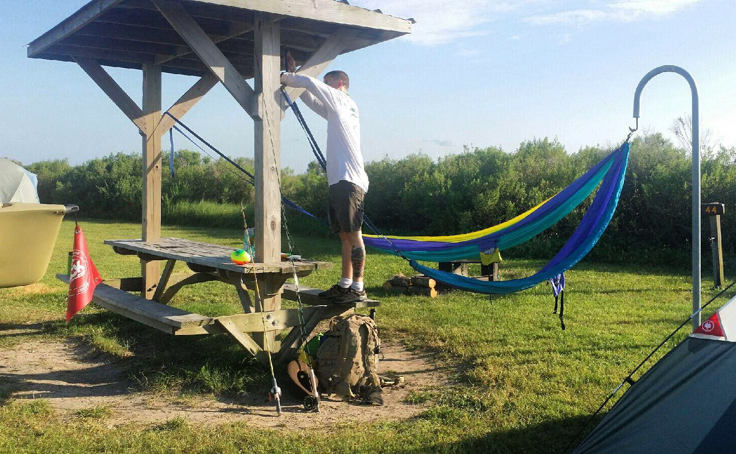 Galveston Island State Park Camping - Realest Nature
