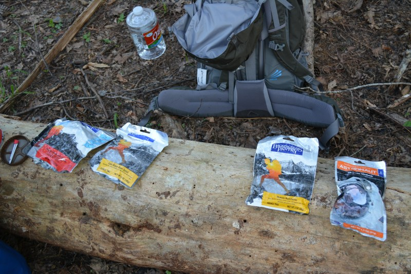 Backpacking food, Davy Crockett National Forest