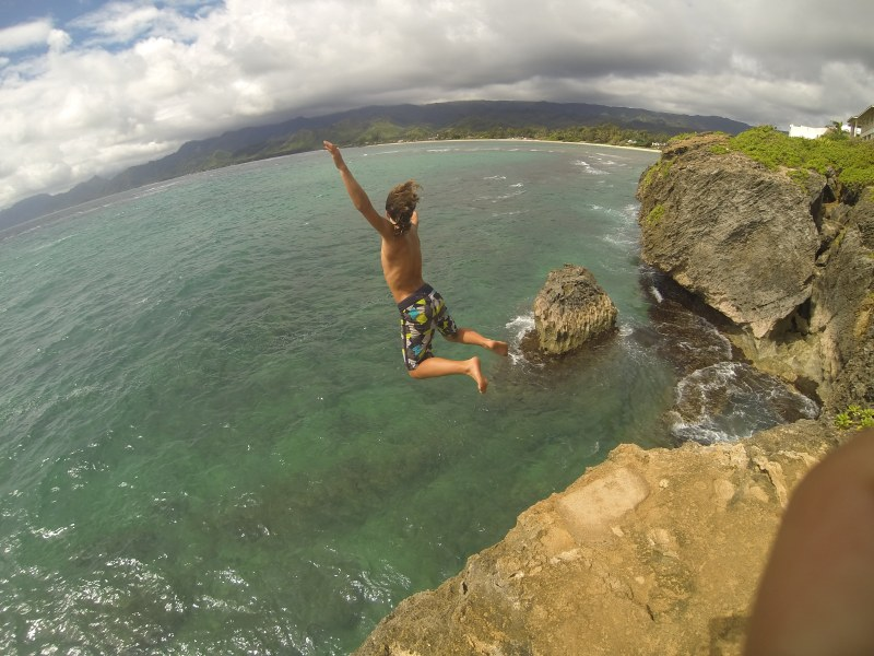 Laie Point Cliff Jumping