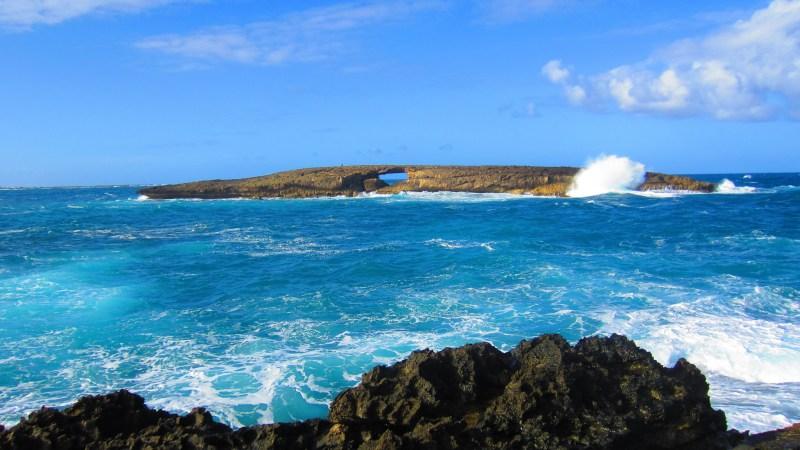 Mokualai, Wildlife Refuge, Island, Laie Point Cliff Jumping