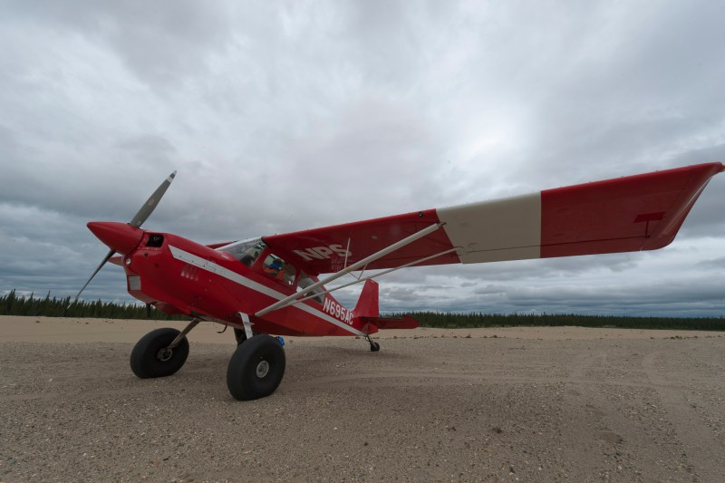 Least Visited National Park, Bush Plane