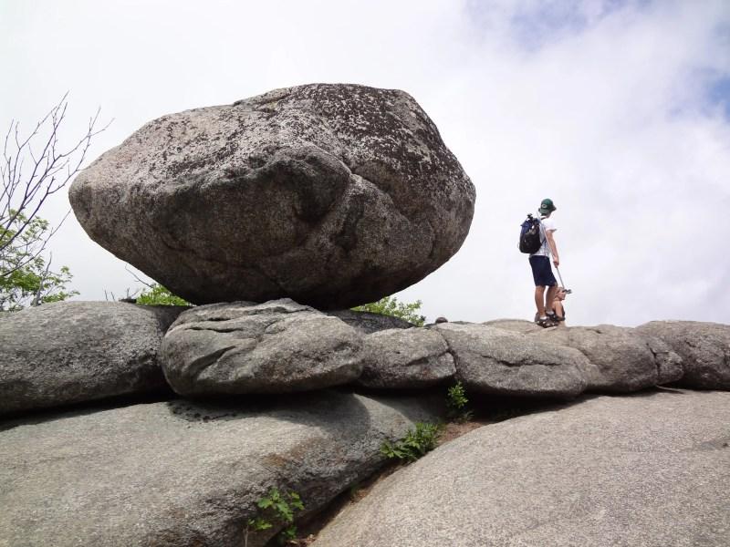 Old Rag Boulder, Rock Scramble