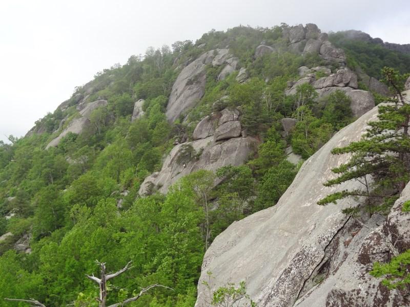 Old Rag Summit, Rock Scramble