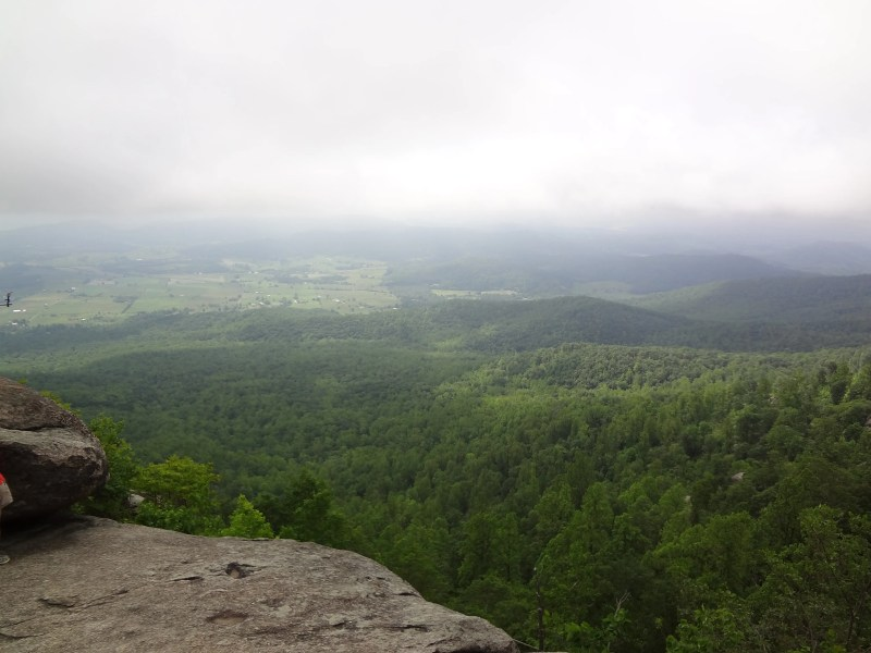 Old Rag View, Valley, Rock Scramble