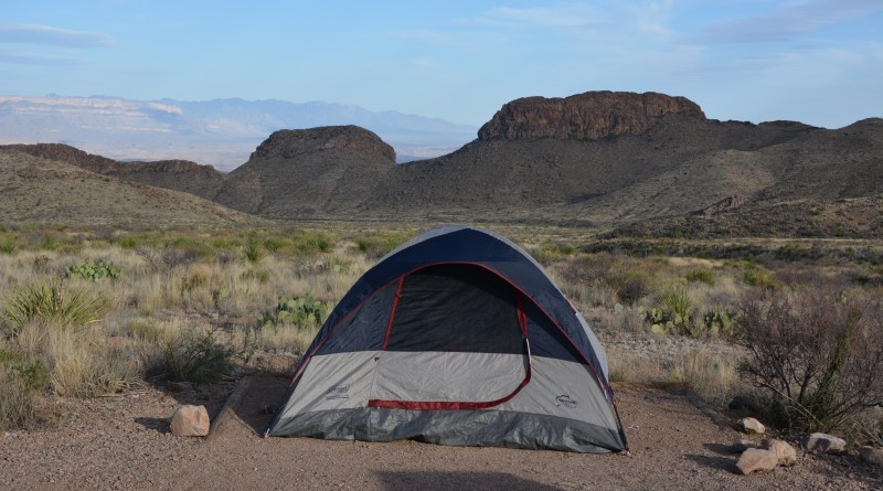 Primitive Roadside Camping, Big Bend National Park, Backcountry