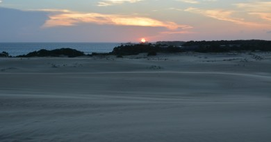 Jockey's Ridge Sunset