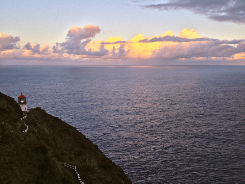 Makapu'u Lighthouse Sunrise, Trail, Hike