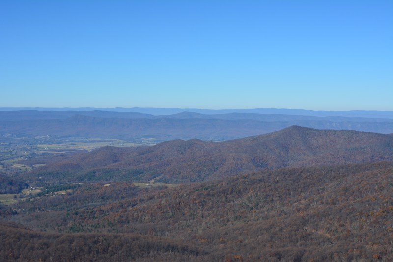 Mary's Rock, Shenandoah, Page Valley