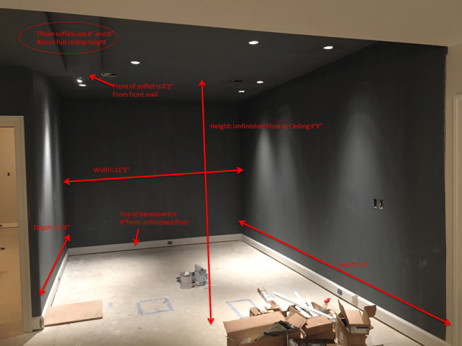 "Prep the walls and plan the Dri-core 7/8"" sub-floor panels"