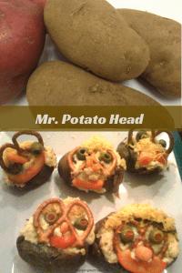 Mr. Potato Head, Healthy Snack