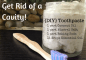 Get Rid of a Cavity & {DIY} Toothpaste