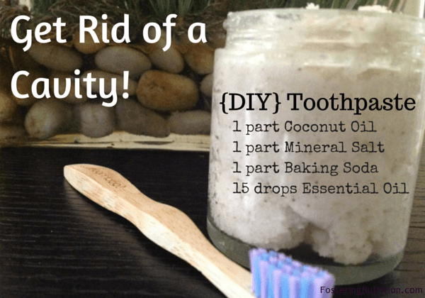 Get Rid of a Cavity and {DIY} Toothpaste