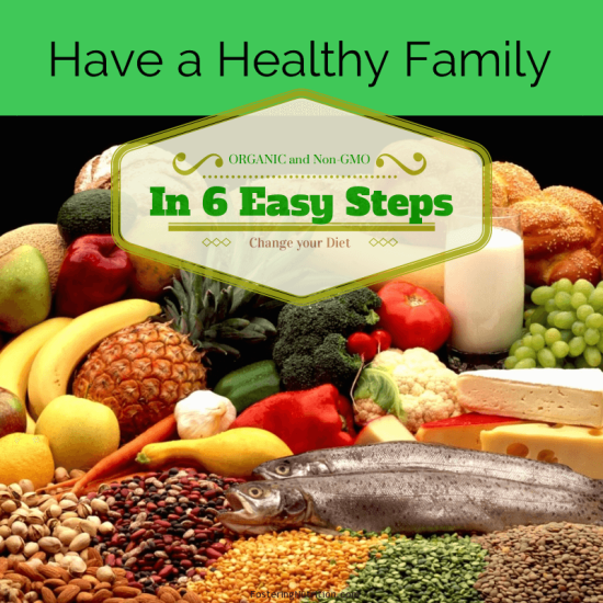 Healthy Family 6 steps