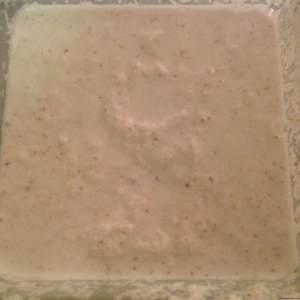 Coconut milk with pulp