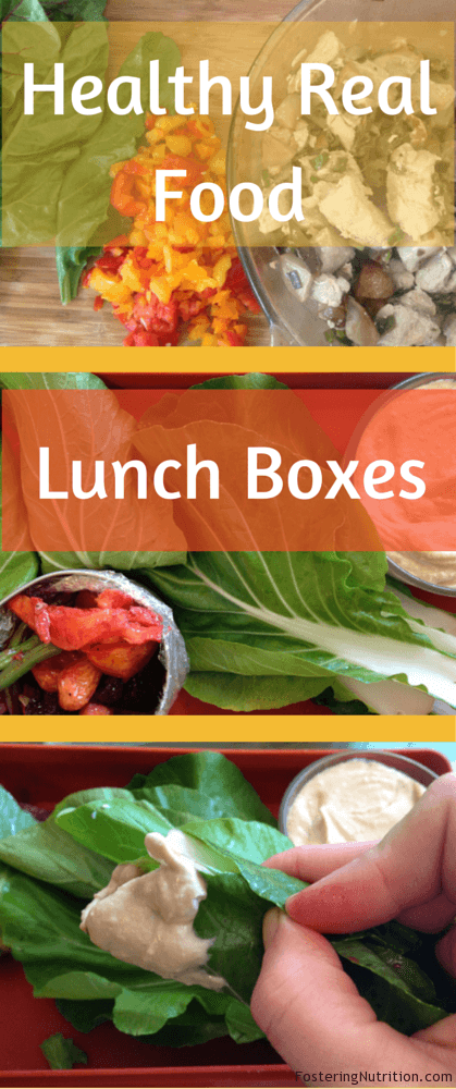 Healthy Real Food lunch boxes