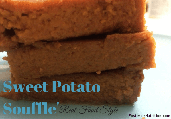 Sweet Potato Souffle'