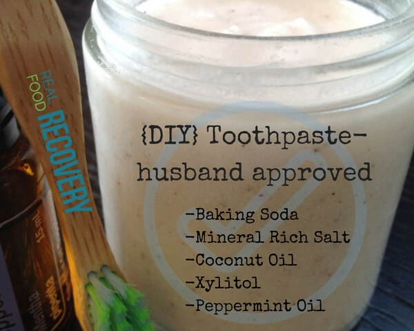 {DIY} Toothpaste- husband approved