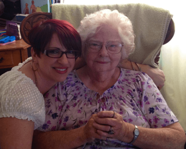 Marilee and Foster Grandmom