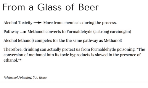 From a Glass of Beer