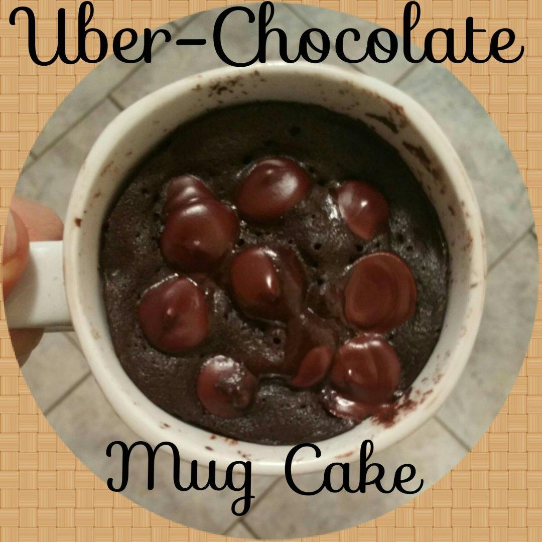 Uber-Chocolate Mug Cake