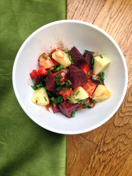 Apple Ginger Beet Salad - Real Food with Dana