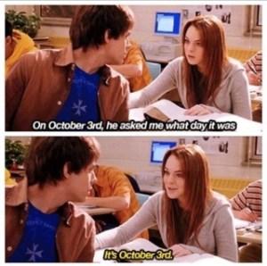 10.3 Mean Girls October 3rd