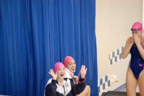 Roommates Swim