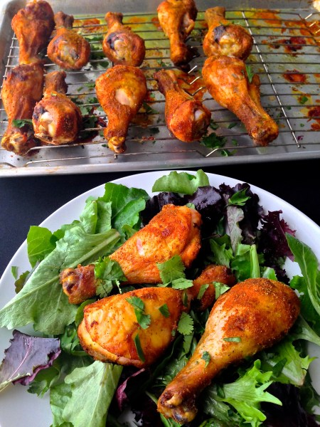 Turmeric & Spice Drumsticks - Real Food with Dana