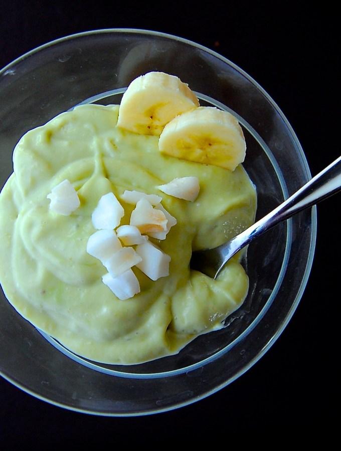 Avocado-Banana Pudding