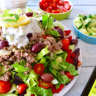 Loaded Greek Nachos