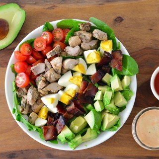 Sriracha Ranch Chicken Cobb Salad
