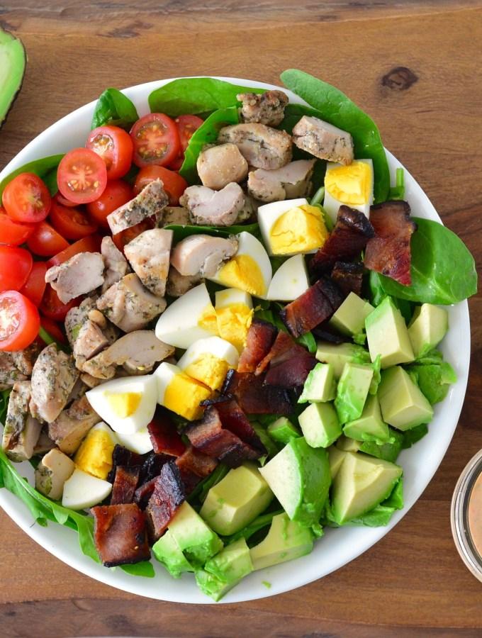 Sriracha Ranch Chicken Cobb Salad