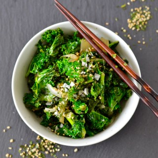 Simple Asian Sautéed Kale