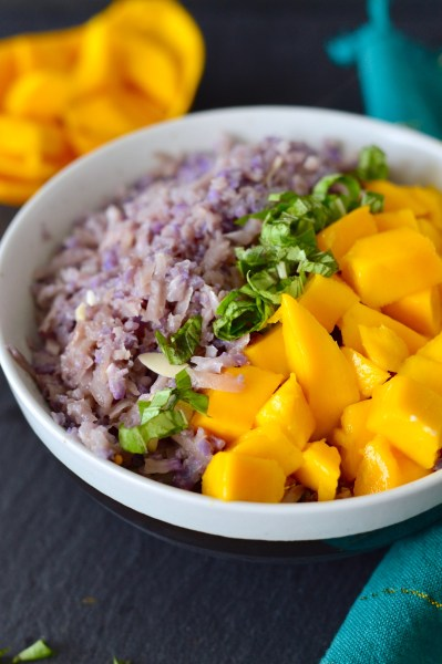 Mango Coconut Cauliflower Rice | Real Food with Dana