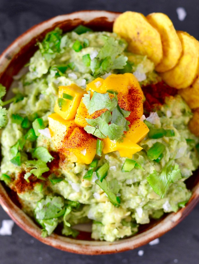 Spicy Mango Guacamole