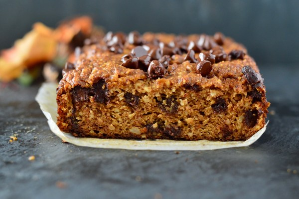 Paleo Pumpkin Bread with Dark Chocolate Chips | Real Food with Dana