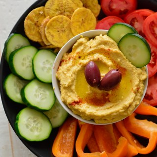 Creamy Cauliflower Hummus | Practical Paleo, 2nd Edition Review