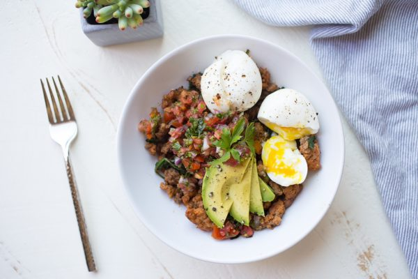 Chorizo Breakfast Bowl | Anya's Eats