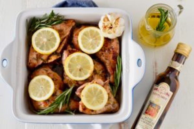 Easy Balsamic Roasted Chicken Paleo Whole30 Real Food With Dana