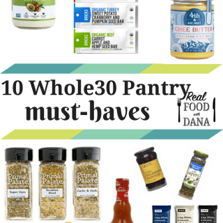 10 Whole30 Pantry Must-Haves