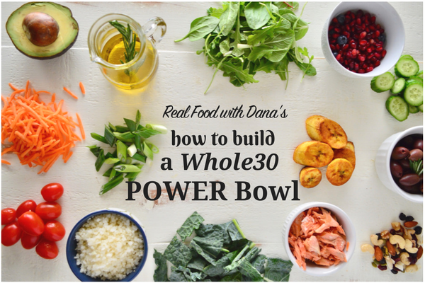 Realfoodwithdana Com How To Build A Whole Power Bowl