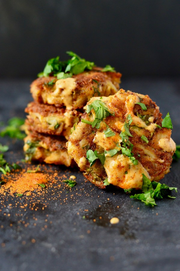 Paleo Crab Cakes with Old Bay Aioli {Whole30-friendly} | Real Food with Dana